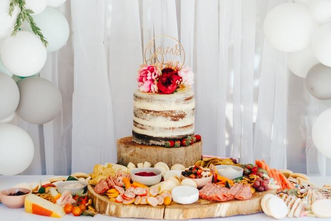 Birthday Grazing Platter and Cake